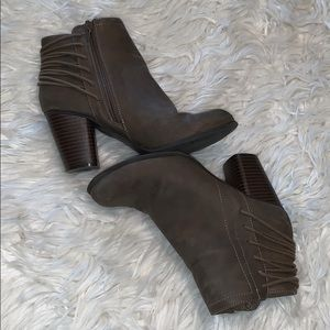 Madden Girl stone ankle boots
